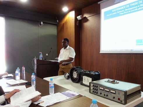 Enseignement supérieur: Issa Ouattara, nouveau docteur en astrophysique