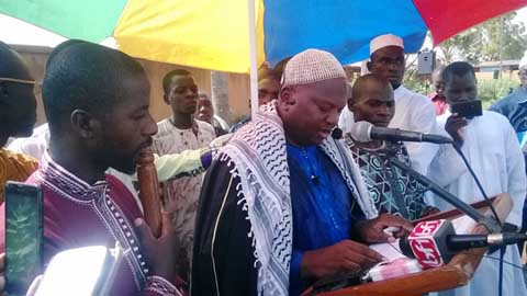 Ramadan 2015: '' Epargner le Burkina des images désastreuses et poignantes de populations faméliques, traversant les frontières …'', imam Tiégo Tiemtoré