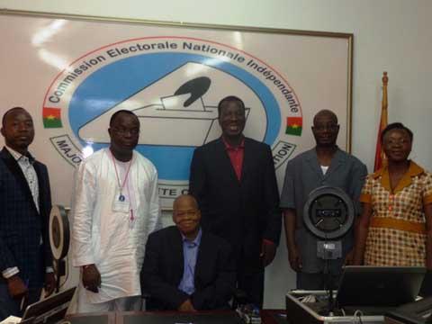 Suivi du processus électoral au Burkina Faso: Le président de la CENI salue la création de la CODEL