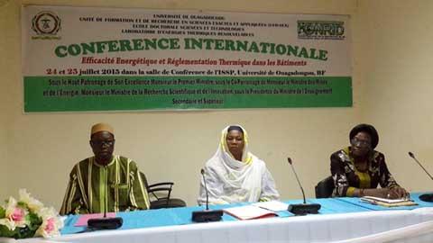 Conférence internationale: Pour une maitrise des énergies thermiques