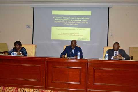 Conférence publique de l'IASP: Ebola et la réponse des systèmes de santé au menu