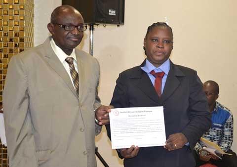 Santé publique: L'IASP a célébré ses premiers spécialistes
