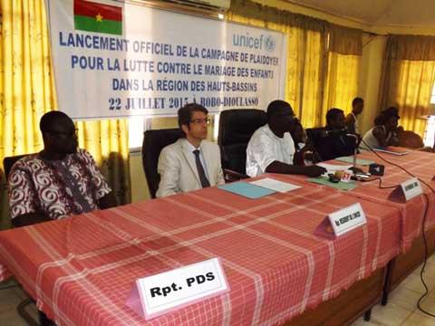 Bobo-Dioulasso: Une campagne de plaidoyer contre les mariages d'enfants
