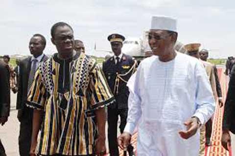 Visite officielle du Président Michel KAFANDO à N'Djamena