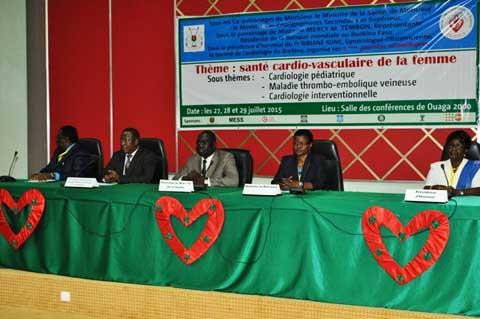 Journées scientifiques de la Société de cardiologie du Burkina: La santé cardio-vasculaire  de la femme au menu de la 5e  édition