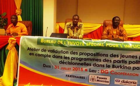 Participation politique des jeunes: Un cadre permanent de concertation pour passer à la réalité