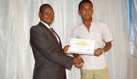 Secourisme: 106 étudiants ont reçu leurs attestations