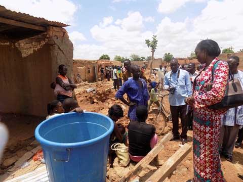 Inondation à Bissighin: le gouvernement apporte son soutien à près de 1 000 sinistrés