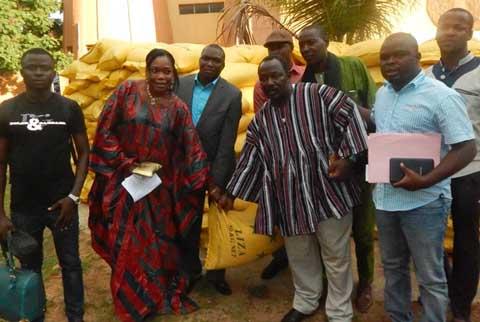 Blessés de l'insurrection populaire: Plus de 7 millions et 150 sacs de riz offerts par le CCNOSC