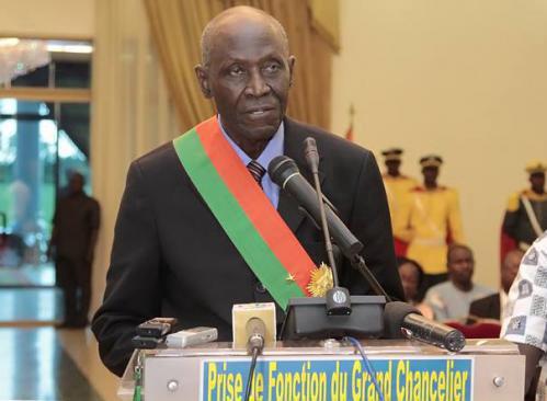 Burkina: Le nouveau Grand Chancelier installé
