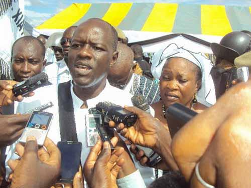 Présidentielle 2015: Gilbert Noël Ouédraogo candidat officiel de l'ADF-RDA