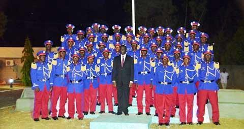 Académie Militaire Georges Namoano: 46 sous-lieutenants pour le «Renouveau»