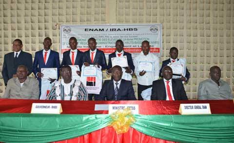 Bobo-Dioulasso: 254 administrateurs s'engagent dans la loyauté