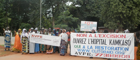 Hôpital Kamkasso: Des femmes de Bobo ont marché pour  exiger son ouverture