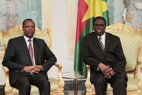 L'Union africaine félicite Michel Kafando pour sa bonne gestion de la transition