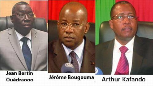Haute Cour de Justice: Jérôme Bougouma et Jean Bertin Ouédraogo à la MACO