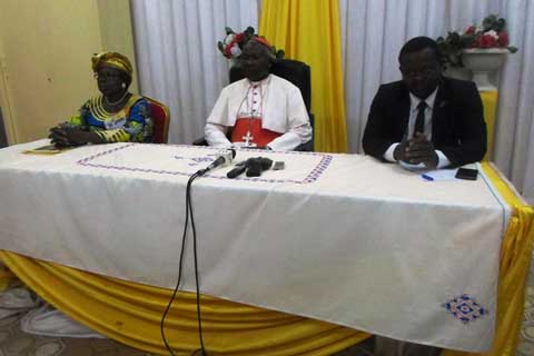 Cohésion sociale: Le Front de renforcement de la citoyenneté chez le président de la FEME et chez le Cardinal