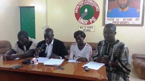 «Si tout le monde peut être militant au CDP, à l'UNIR/PS cela relève d'un mérite», déclare le président de la FEDES, Issaka Ouédraogo