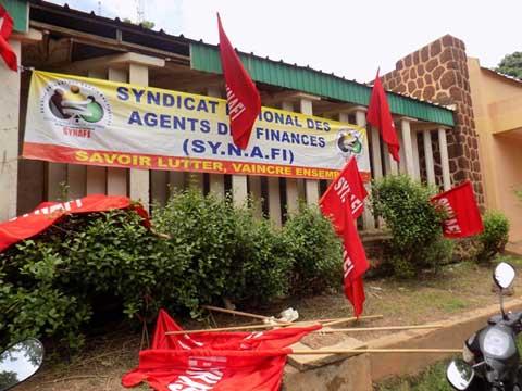 Grève de 48 heures du SYNAFI pour le Fonds commun: Suivie à plus de 97% selon les organisateurs