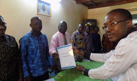 Situation nationale: le réseau d'action des jeunes des Organisation de la Société civile (OSC) transmettent leur doléance aux partis politiques