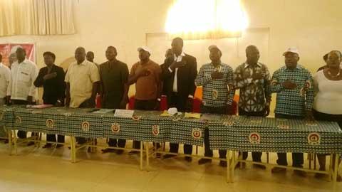«S'il y a exclusion, nous allons encore nous diviser et ce n'est pas bien», dixit le président du CDP, Eddie Komboïgo.