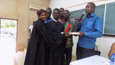 Participation des jeunes en politique: PYPA a remporté le concours de plaidoirie
