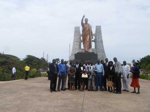 Sortie des élèves diplomates de l'INHEI au pays de Kwame N'Krumah: S'inspirer du modèle ghanéen
