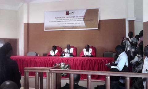 Barreau Burkinabè: 28 élèves avocats ont prêté serment