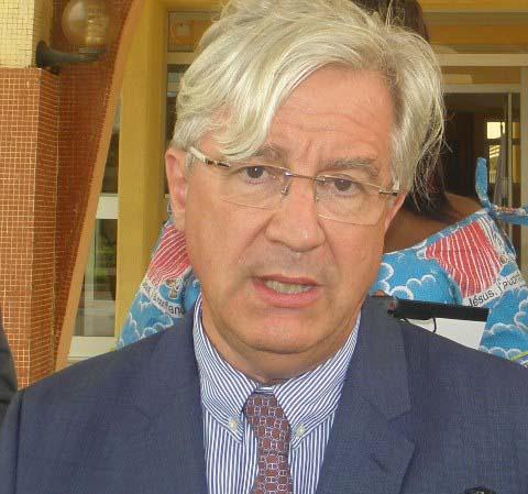 Ambassadeur Alain Holleville à propos de la situation nationale: «Le code de bonne conduite doit s'imposer aux acteurs politiques»
