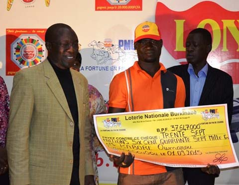 PMUB: Oumarou Kaboré, nouveau millionnaire