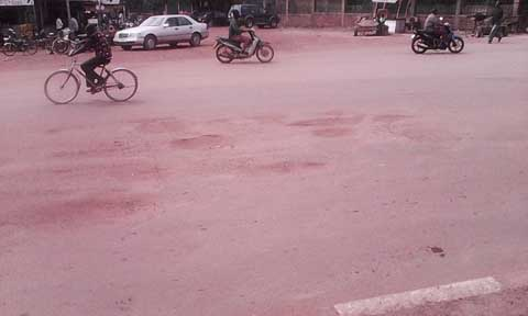Routes à Ouaga: Ces nids de poule, véritables dangers pour les usagers!