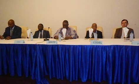 Transparence des élections du 11 octobre: Les formateurs d'observateurs nationaux à l'école du CGD