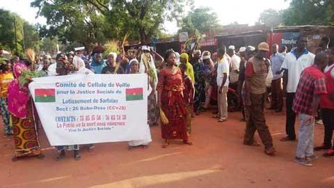 Bobo: Avec des spatules, des femmes ont marché pour exiger la libération de François Kaboré