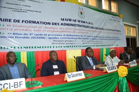 Société à capitaux publics: Des administrateurs renforcent leurs capacités à Bobo
