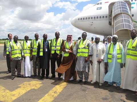 Hadj 2015: Les premiers pèlerins burkinabè ont quitté Ouagadougou