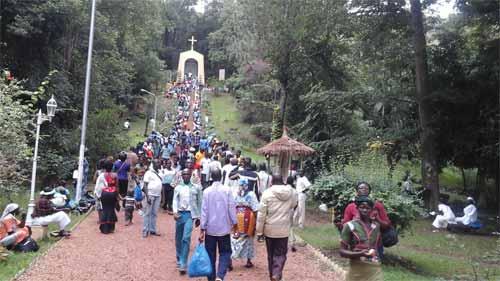Pèlerinage 2015 à Issia en Côte d'Ivoire: Le Burkina Faso reçoit la grâce de la paix