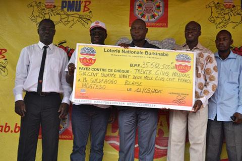 Course Hippique: La LONAB fait des millionnaires à Mogtédo et à Tenkodogo