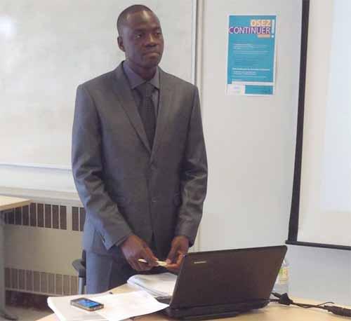 Recherches: Fernand Ouédraogo défend une thèse sur les effets de la collaboration école-famille à l'université de Montréal (Canada)