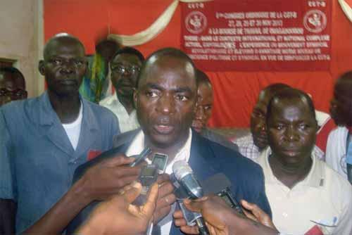 Situation nationale: Les syndicats décrètent une grève générale