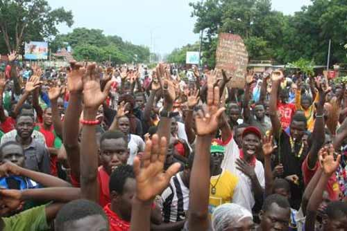 Projet de protocole d'accord de la CEDEAO: Frustration et Indignation à Bobo