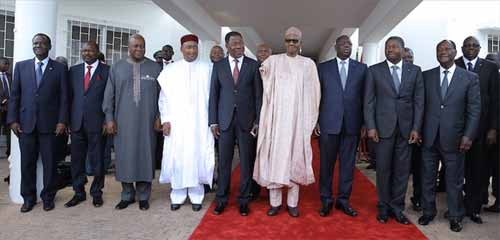 Crise au Burkina: Les conclusions du sommet extraordinaire de la CEDEAO à Abuja