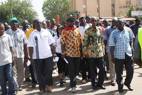Coalition contre la vie chère (CCVC): Déclaration de la Coordination de la ville de Ouagadougou