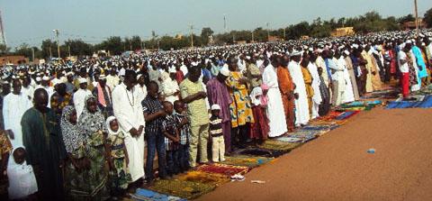 Fête de la Tabaski au Nord: Les fidèles musulmans ont prié la paix au Burkina