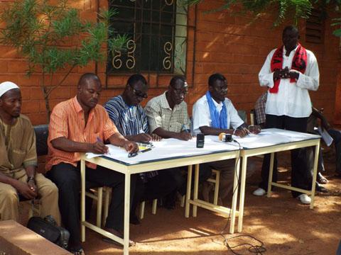 Coordination pour la résistance du Yatenga: La COPRY pour la rétablissement effectif des institutions et pour la dissolution du RSP