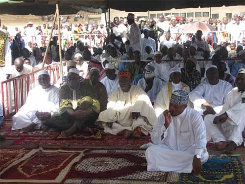 Tabaski 2015: Les musulmans du Burkina rendent grâce à Allah pour la paix retrouvée