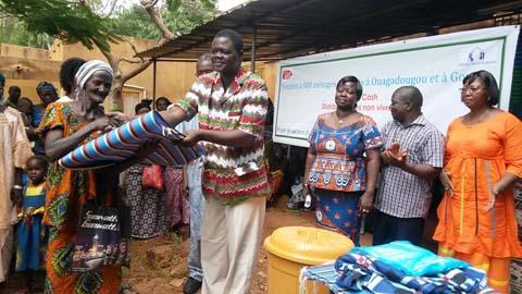 Inondation à Kilwin et Bissighin: Christian Aid et le réseau MARP au secours de 500 ménages