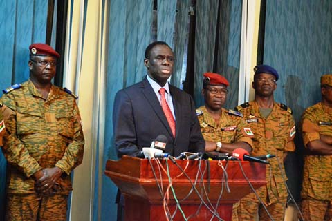 Libération du camp Naba Koom: «Aucune perte en vie humaine», selon le président Kafando
