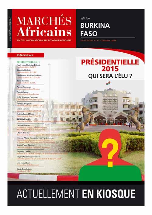 Marchés africains, édition Burkina Faso.Hors série N°45, octbre 2015