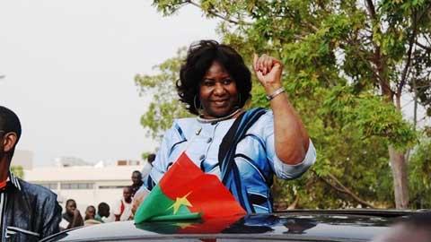 Mariam Sankara à l'occasion du 15 octobre: