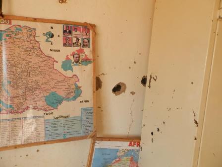 Samorogouan: L'impact de l'assaut des assaillants sur la brigade de la Gendarmerie